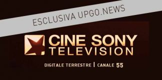 CineSony TV digitale terrestre