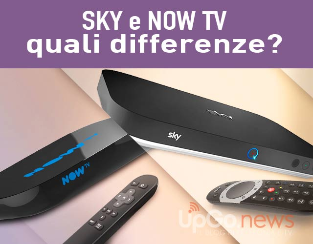 Differenze Sky Now Tv