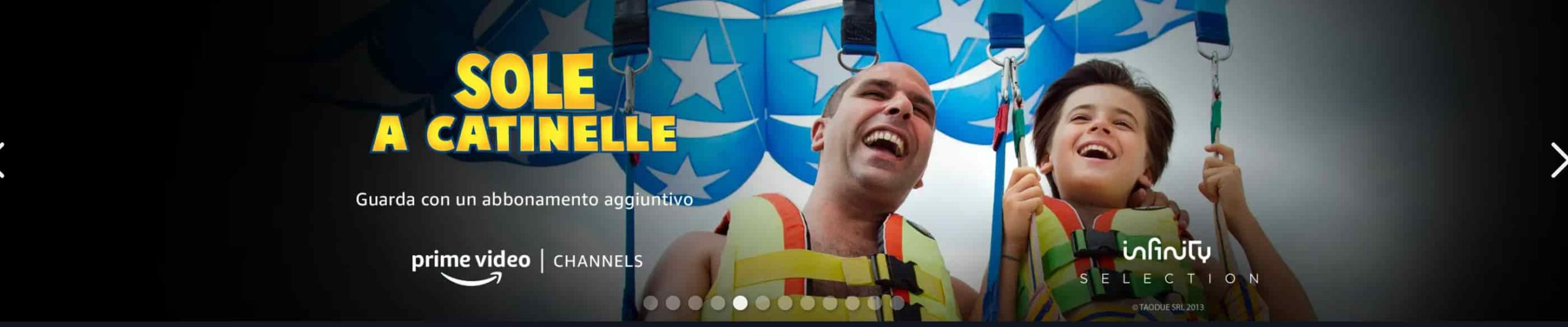 Amazon Prime Video Sole a Catinelle
